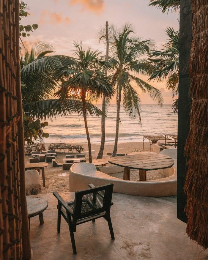 Sunrise at Papaya Playa Project