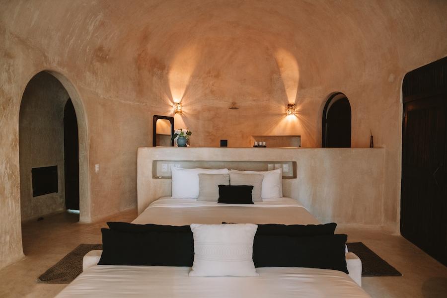 Room interior at Papaya Playa Project