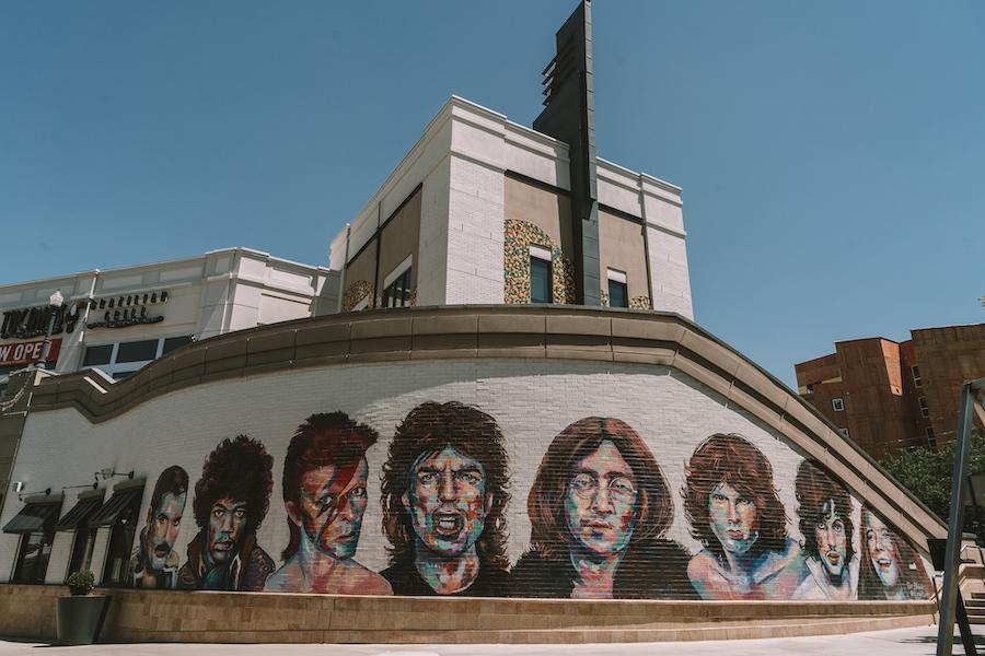 Legends of Rock mural in Salt Lake City, Utah