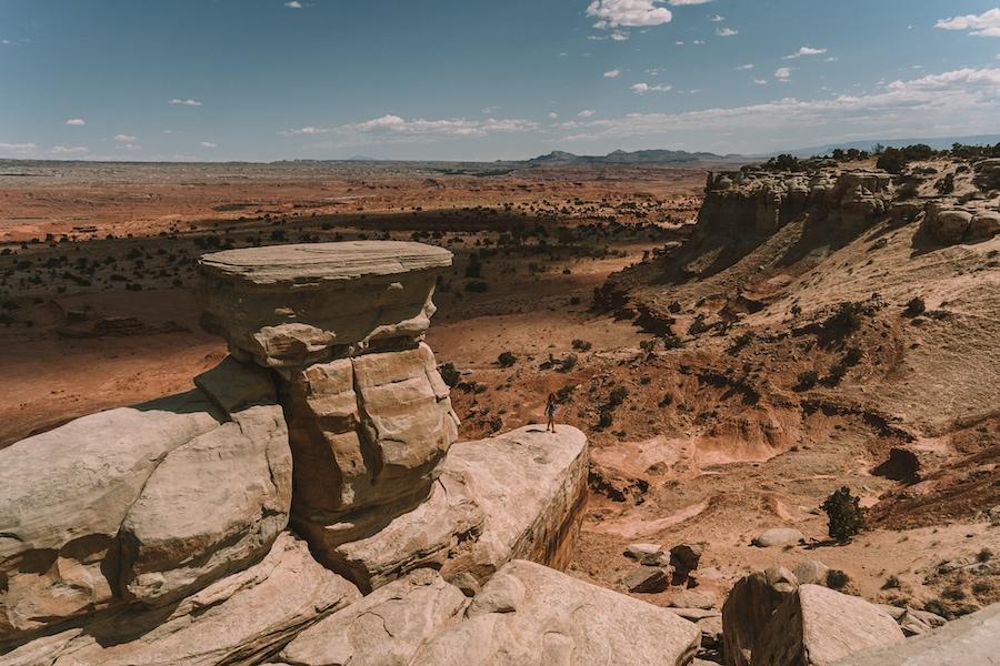 Salt Wash scenic viewpoint
