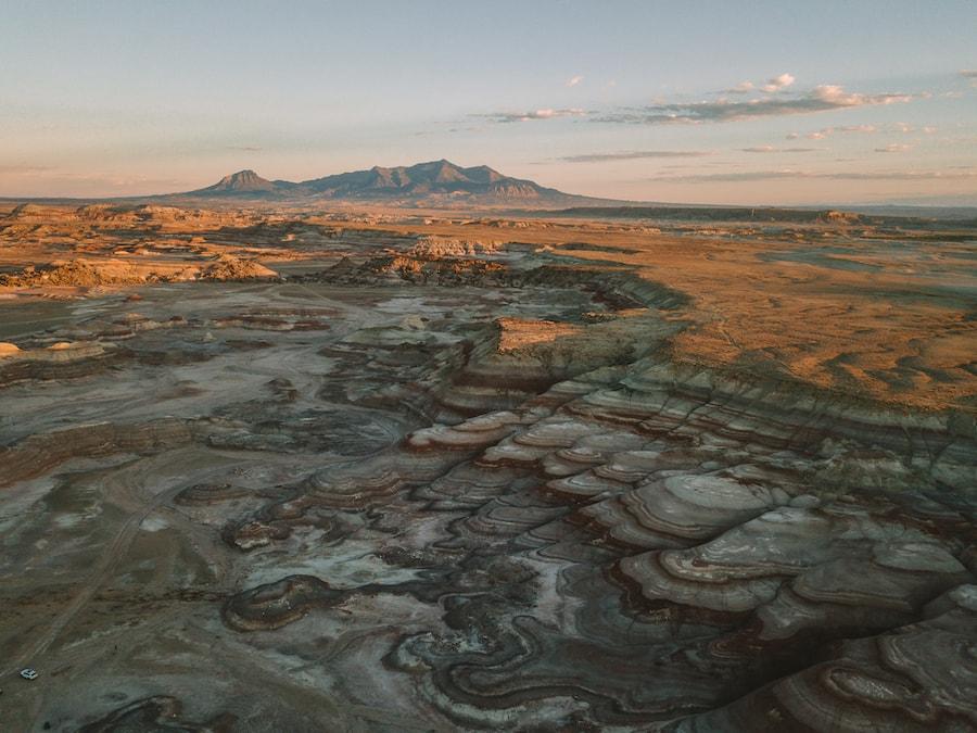 Mars Desert Research Station - Salt Lake City to Yellowstone Road Trip