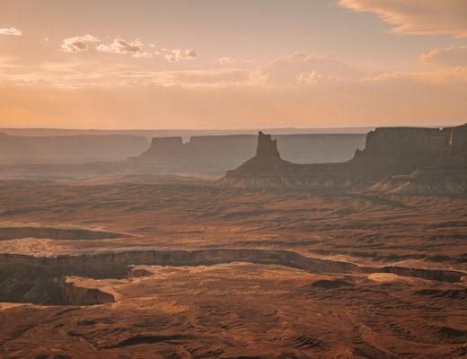 View from Murphy Point Trail in Canyonlands