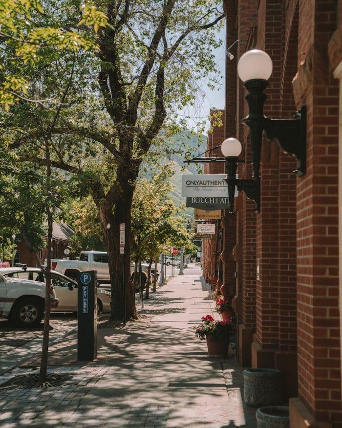 Aspen downtown