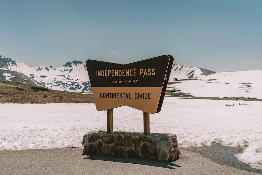 Continental Divide in Colorado