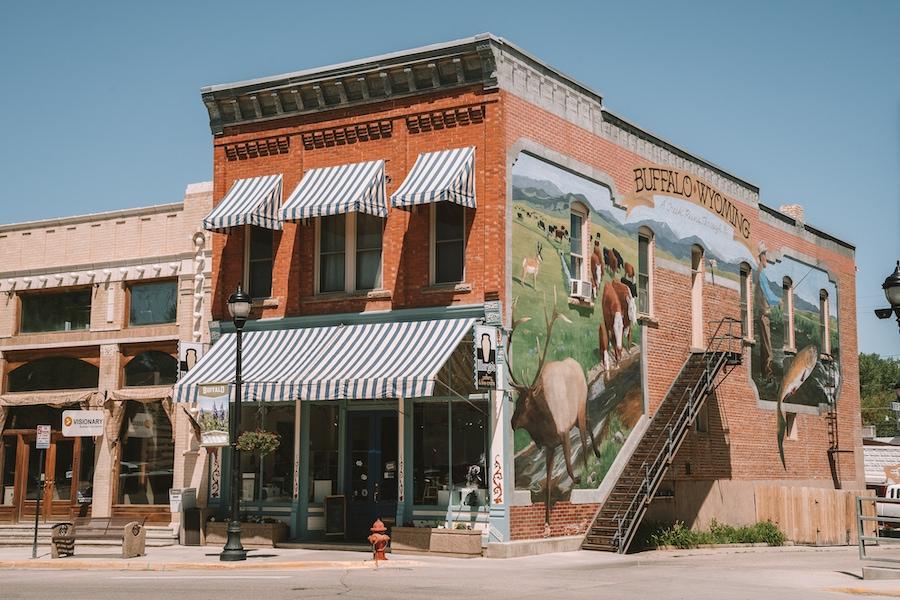 Buffalo, Wyoming - Salt Lake City to Yellowstone Road Trip