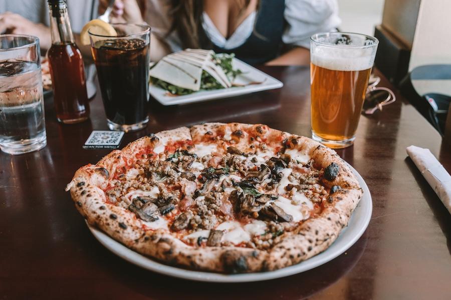 Settebello pizza in Salt Lake City
