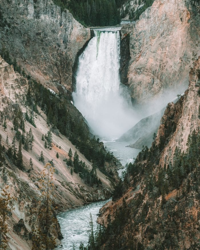 Artist's Point - what to see in Yellowstone