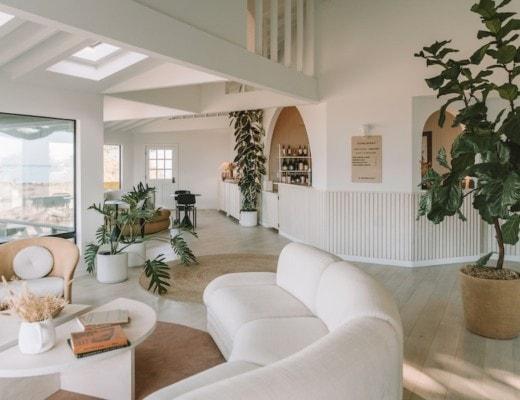 White Water Cambria lobby design