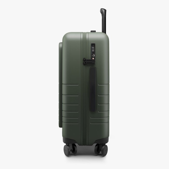 Side shot of Monos Carry-On Pro