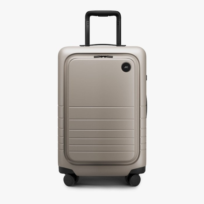 Monos carry-on pro plus in desert taupe
