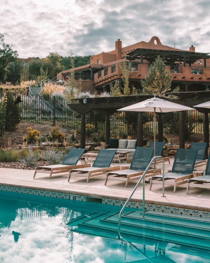 Pool at Bishop's Lodge Resort