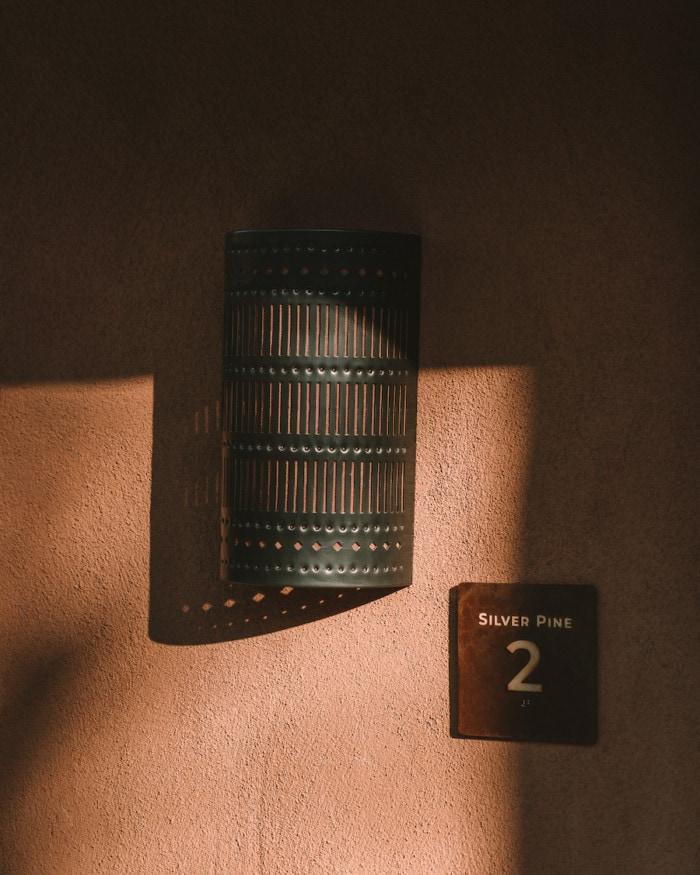 Guestroom details of exterior at Bishop's Lodge