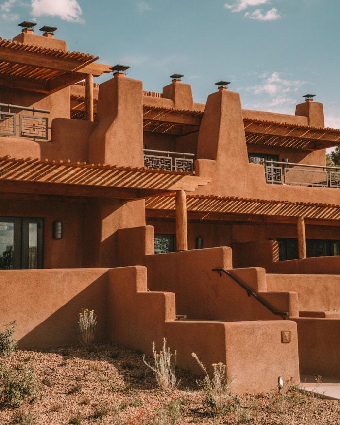Adobe architecture at Bishop's Lodge